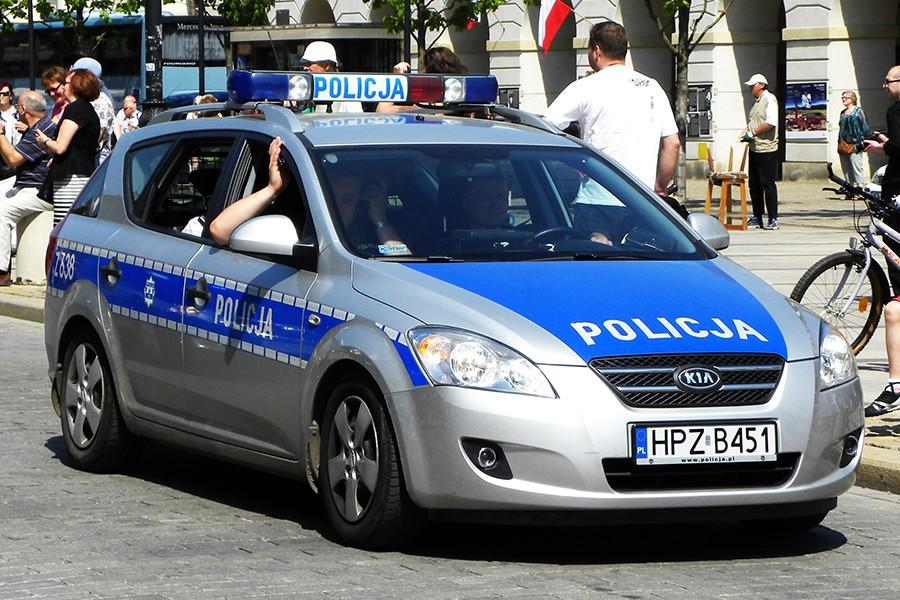 Zmiana oznakowania pojazdów Policji
