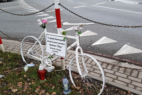Wypadki rowerzystów (1.1-31.7.2020)