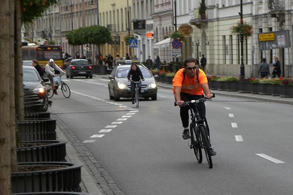 Początek jesieni niebezpieczny dla rowerzystów