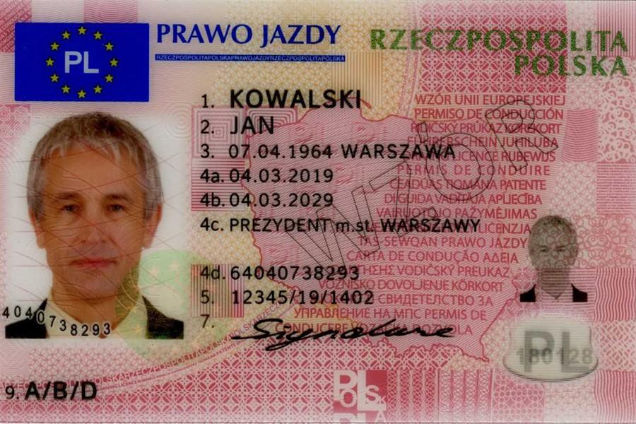 Prawo jazdy Polaków przebywających za granicą
