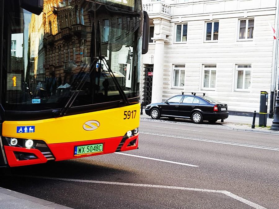 Blokady alkoholowe w stołecznych autobusach