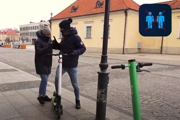 WORD Białystok radzi jak bezpiecznie korzystać z hulajnogi