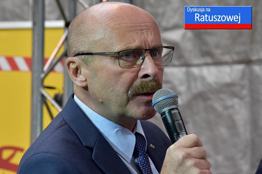 Wojciech Pasieczny o DYSKUSJI NA RATUSZOWEJ