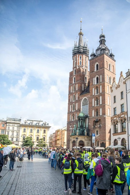 Kraków stawia na bezpieczeństwo. 20.3.2020