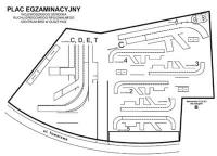 Obowiązujący plac manewrowy