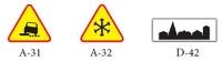 Znaki drogowe obowiązujące od 1 stycznia 2006 r.