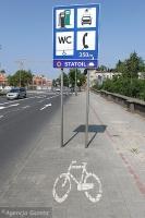 A na ścieżkach rowerowych…