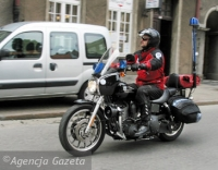Motocykl ratunkowy rozpoczął sezon