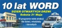 10-lat WORD – DZIEŃ OTWARTYCH DRZWI - zaproszenie