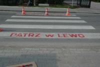 Specjalne oznakowanie przejścia dla pieszych