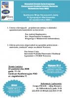 IV Sympozjum Warszawskie - zaproszenie dla instruktorów nauki jazdy