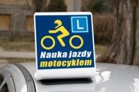 Nowość dla szkolących na motocyklach