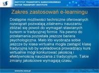 E-learning w procesie szkolenia jeszcze wymaga czasu
