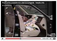 Poduszka powietrzna i niemowlak - crash test