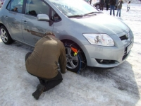 Technika jazdy w warunkach poślizgu