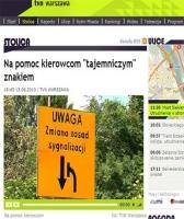 Tajemniczy znak drogowy - czy zgodny z prawem?