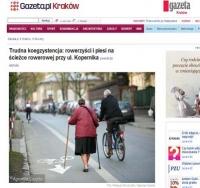 A kary dla spacerujących po ścieżkach rowerowych?