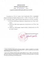 Obwieszczenie w sprawie wysokości oplaty paliwowej 2011