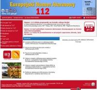 Europejski Numer Alarmowy 112 - zobacz jak dzwonić