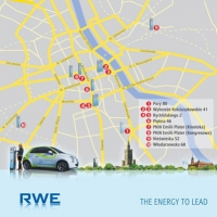 Dziesięć nowych stacji ładowania pojazdów elektrycznych