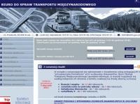 Dawniej BOTM teraz Biuro ds. Transportu Międzynarodowego