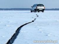 Za jazdę po lodzie zapłacą wysoką grzywnę