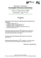 Poznań zaprasza na seminarium Europejski Kierowca Zawodowy
