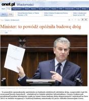Minister Grabarczyk: A2 będzie przejezdna