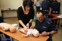 Uczą się udzielania pierwszej pomocy. A Ty?