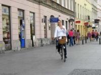 Dlaczego rowerzyści jadą po chodniku