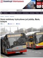 Hybrydowe w Warszawie