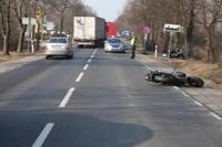 Pierwsze tragiczne wypadki na motocyklu