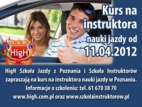 Kurs na instruktora nauki jazdy w Poznaniu