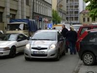 W Krakowie kontrolowali pojazdy nauki jazdy
