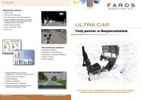 FAROS - symulatory bezpieczeństwa ULTRA CAR