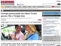 Nowego prawa jazdy nie zdasz - donoszą media