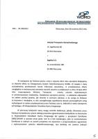 Projekt umowy KSD ws. systemu obsługi egzaminowania