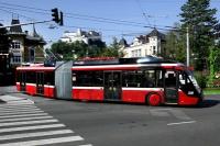 Coraz częściej trolejbusy