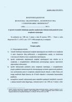 Rozporządzenie w sprawie prawidłowości lokalizowania fotoradarów