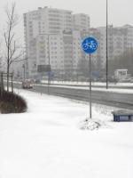Czy zimą można jeździć rowerem?