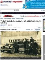 Gdynia: pierwsza szkoła kierowców