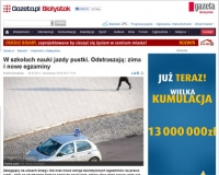 Białystok: w szkołach nauki jazdy pustki