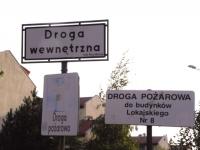 Zarządzanie ruchem na drogach wewnętrznych i nadzór nad nim