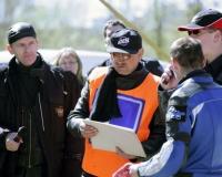 Czesław Swaryczewski: Wypadek podczas szkolenia motocyklowego