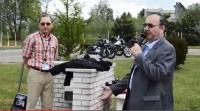Pokaz egzaminów praktycznych kategorii motocyklowych - zobacz film