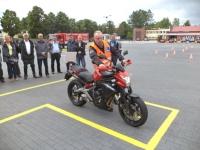 Zobacz filmy z pokazu egzaminu kategorii motocyklowych (WORD Słupsk)