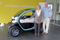 Pierwszy zakupiony w Polsce pojazd elektryczny sprzedany