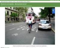 W Budapeszcie buspasy także dla rowerzystów