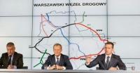 Kontynuacja budowy Południowej Obwodnicy Warszawy