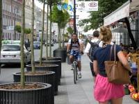 Mandaty dla rowerzystów na chodnikach